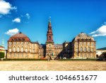 christiansborg palace is a... | Shutterstock . vector #1046651677
