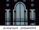 january 4  2009. glass door in... | Shutterstock . vector #1046662594