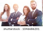 group of smiling business people   Shutterstock . vector #1046686201