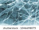 texture of ice. winter...   Shutterstock . vector #1046698075