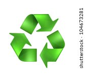 recycling  bitmap copy | Shutterstock . vector #104673281