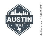 austin texas usa travel stamp... | Shutterstock .eps vector #1046757211