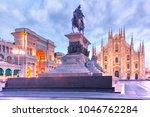 piazza del duomo  cathedral... | Shutterstock . vector #1046762284