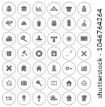real estate icons set   house... | Shutterstock .eps vector #1046764264