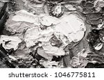 black and white hand drawn oil... | Shutterstock . vector #1046775811
