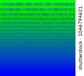 binary code scattered... | Shutterstock .eps vector #1046794621