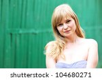 close up portrait of beautiful... | Shutterstock . vector #104680271