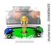 cricket championship concept... | Shutterstock .eps vector #1046808655