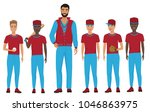 school kids children baseball... | Shutterstock .eps vector #1046863975