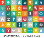 energy and ecology icons ...   Shutterstock .eps vector #1046864131