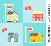 banner for sales  advertising... | Shutterstock .eps vector #1046866639