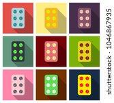pill . medical capsule ...   Shutterstock .eps vector #1046867935