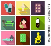 medicine  pharmacy  hospital...   Shutterstock .eps vector #1046867941