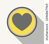 medical heart pill sign icon....   Shutterstock .eps vector #1046867965