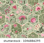 seamless abstract colorful... | Shutterstock .eps vector #1046886295