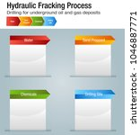 an image of a hydraulic... | Shutterstock .eps vector #1046887771