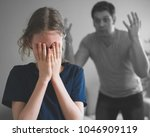 angry father yelling at his...   Shutterstock . vector #1046909119