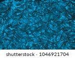 winter blue wet abstract paint... | Shutterstock . vector #1046921704