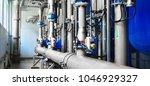 large industrial water... | Shutterstock . vector #1046929327