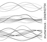 set elements design abstract...   Shutterstock .eps vector #1046943754