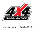off road 4x4 all terrain...   Shutterstock .eps vector #1046960221
