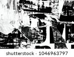 old posters grunge texture... | Shutterstock . vector #1046963797
