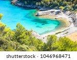 island of brac in croatia ... | Shutterstock . vector #1046968471