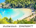 island of brac in croatia ... | Shutterstock . vector #1046968477