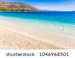 island of brac in croatia ... | Shutterstock . vector #1046968501