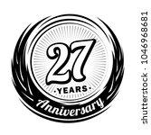 27 years anniversary....