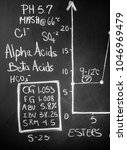 beer science  black board with... | Shutterstock . vector #1046969479