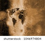 world map abstract background | Shutterstock . vector #1046974804