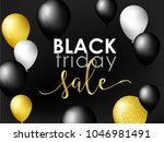 black friday sale background... | Shutterstock .eps vector #1046981491