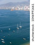 panoramic view of acapulco bay | Shutterstock . vector #1046991661