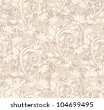 seamless floral background | Shutterstock .eps vector #104699495