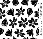 seamless vector pattern with... | Shutterstock .eps vector #1046997055