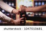 fight for the last bottle of... | Shutterstock . vector #1047010681