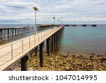 the new and old jetty at rapid...   Shutterstock . vector #1047014995