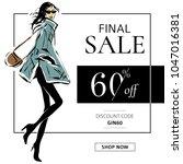 Black And White Fashion Sale...