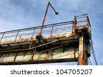 old industrial building. | Shutterstock . vector #104705207