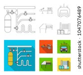 automotive industry and other... | Shutterstock .eps vector #1047076489