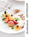 the view of french food | Shutterstock . vector #1047092239