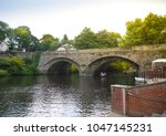 Old Stone Bridge Over The Rive...