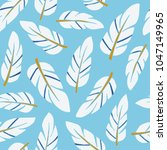 the seamless pattern with... | Shutterstock .eps vector #1047149965