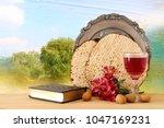 pesah celebration concept ... | Shutterstock . vector #1047169231