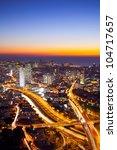 Aerial  View Of Tel Aviv At...
