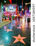 los angeles  usa   october 6 ... | Shutterstock . vector #1047184597
