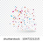 celebration with colorful... | Shutterstock .eps vector #1047221215