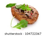 grilled beef steak | Shutterstock . vector #104722367