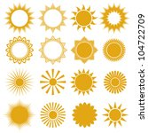 Set Of Vector Suns   Elements...